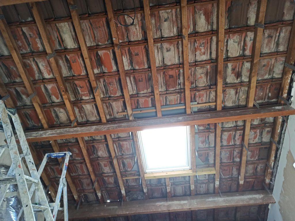 Isolation de toiture par l'intérieur à Taverny 95